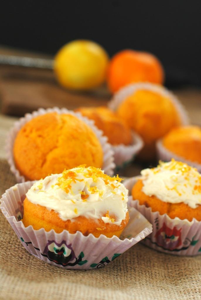 Gluten free squash cupcake