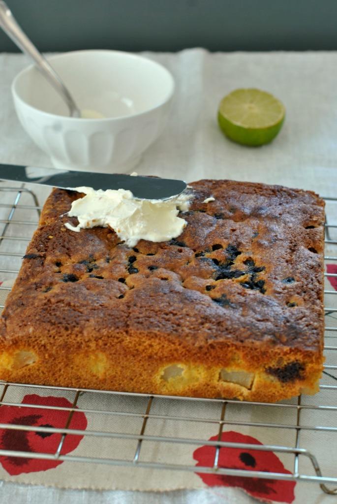 torta pere e mirtilli 2