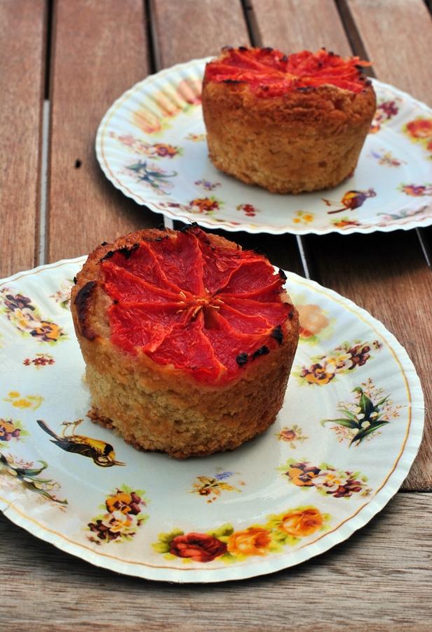 Muffin senza glutine al pompelmo pic